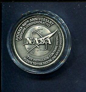 40th Anniversary APOLLO NASA MOON SPACE EXPLORATION ...