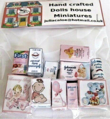 Casa De Muñecas Conjunto de vivero Miniaturas Casa De Muñecas
