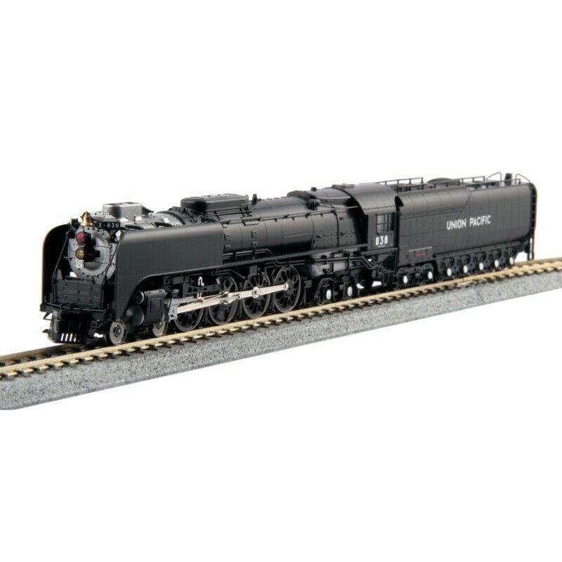 Kato 1260402  484 FEF3 Union Pacific  838 w DCC Freight Version  Scala N