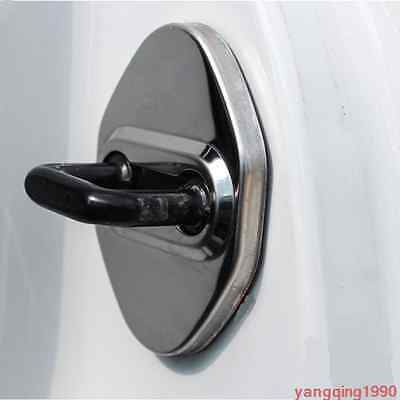 4PCS Door Stop Rust protector cover Trim for Mitsubishi Outlander 2013-2017