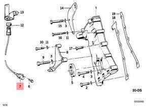 Super Genuine Bmw Cmsp E24 E30 Cabrio Crankshaft Position Sensor Oem Wiring Cloud Hisonuggs Outletorg