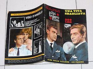ALBI BOLERO FILM anno XV 164 - 1964 Una vita sbagliata Corrado Pani Fotoromanzo