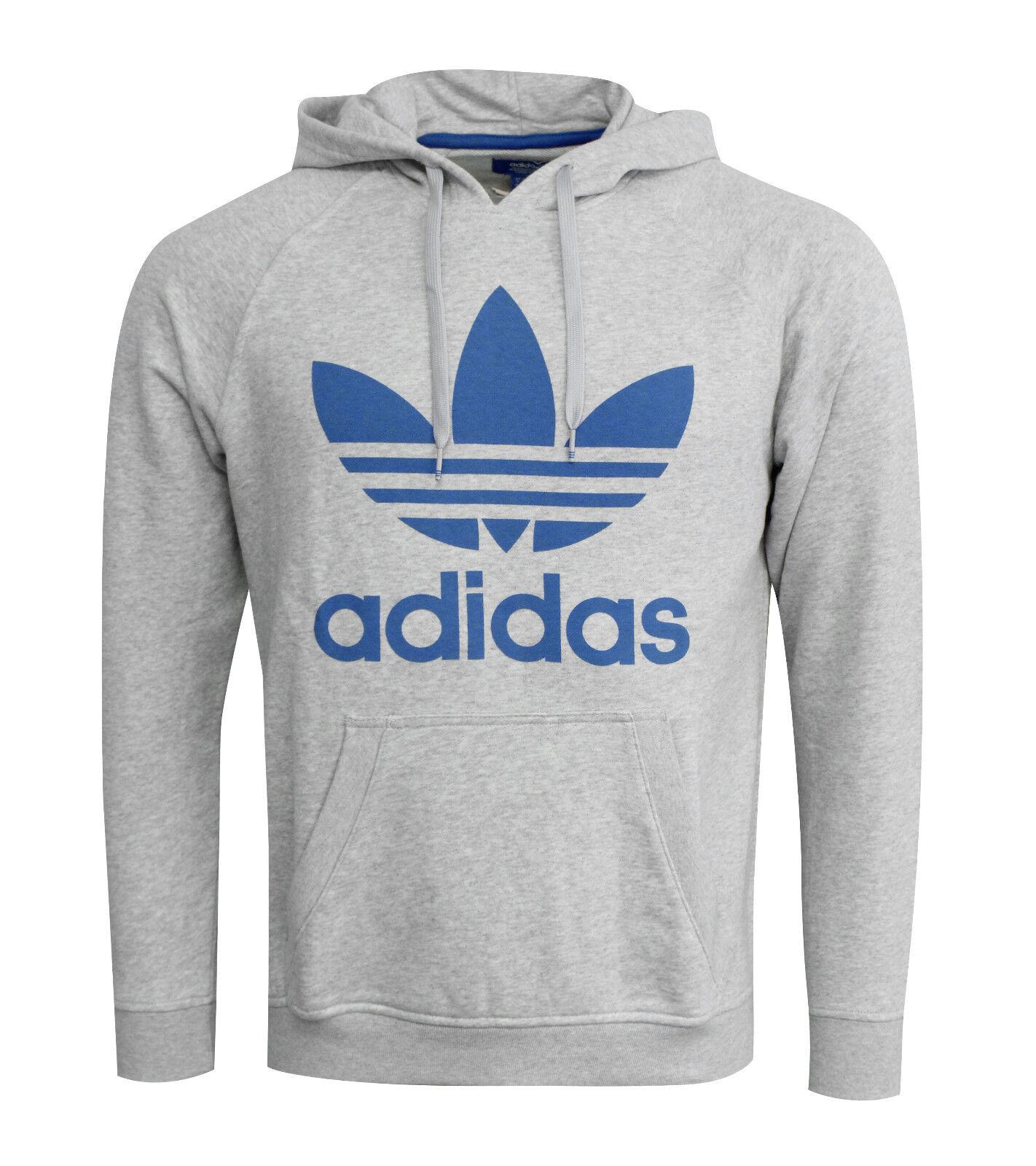 Adidas Originals Herren Herren Herren Trefoil Kapuzenpullover Pullover Grau S23121 R1g c8bb30