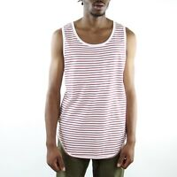 Eptm Epitome Contempory Clothing Long Tank Top T Shirt Extended Mens Bugundy