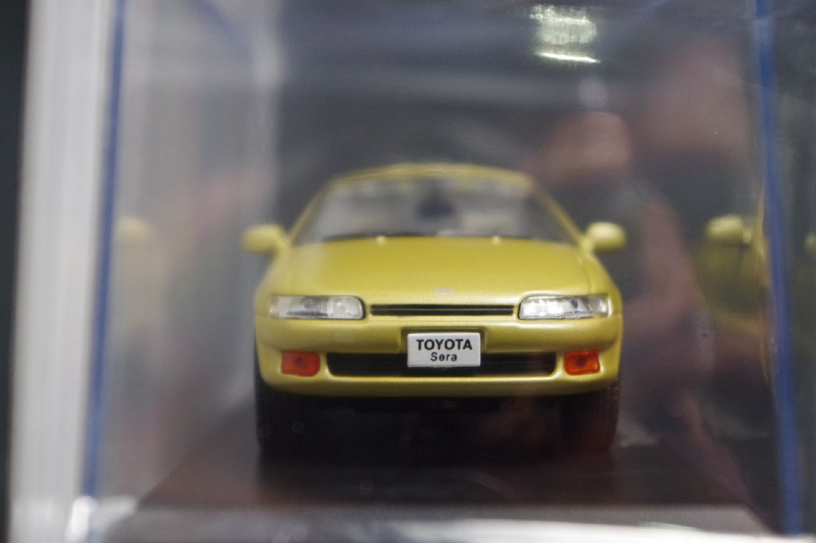 Toyota Sera 1990 1 1 1 43 Scale Box Mini Car Display Diecast Vol 98 03e135