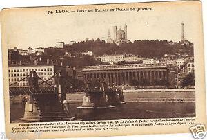 69-cpa-LYON-Bruecke-der-Palast-und-Palais-de-Justiz