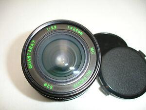 QUANTARAY-MC-28mm-f-2-8-LENS-for-MINOLTA-MD-mount-camera-SN842079