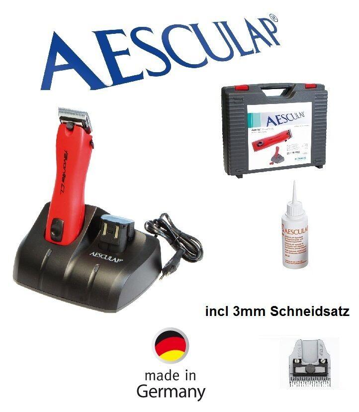 marchio famoso AESCULAP Batteria TOSATORE PER CANI Favorita CL CL CL   gt200 + 3mm feinscherkopf  migliore marca