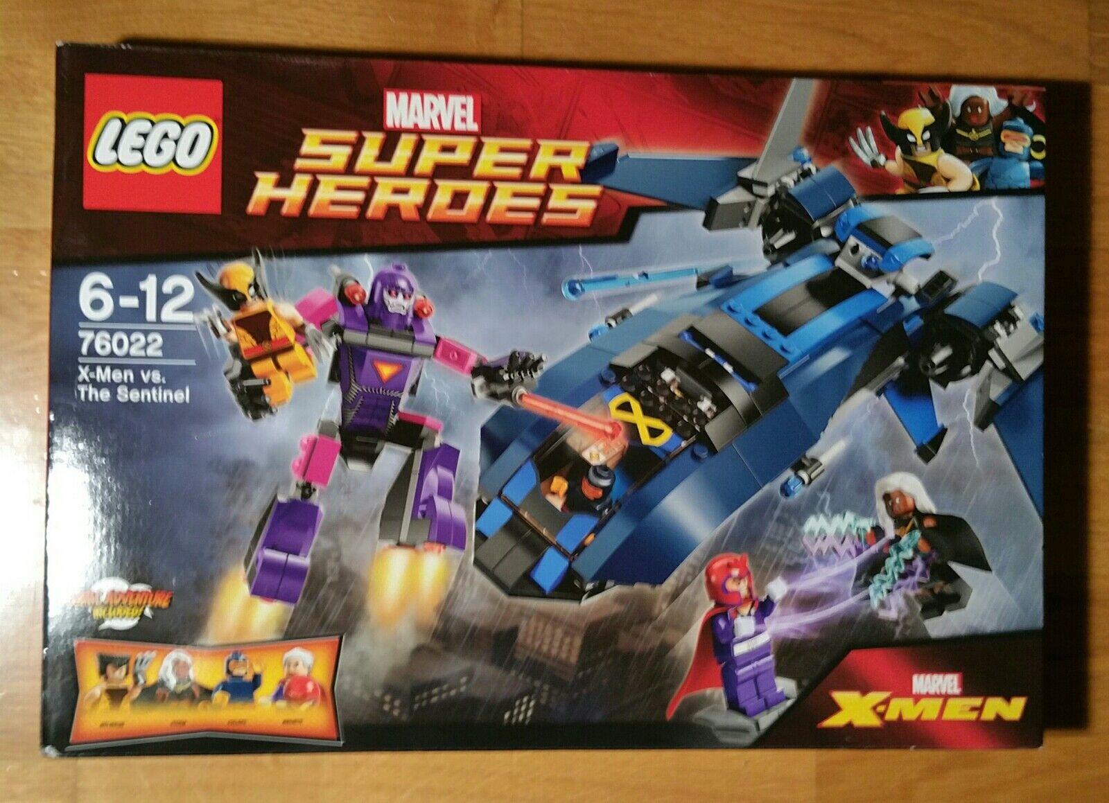 New LEGO 76022 marvel Super Heroes Xmen vs sentinel misb