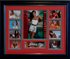 JESSICA ALBA SIGNED LIMITED EDITION FRAMED MEMORABILIA