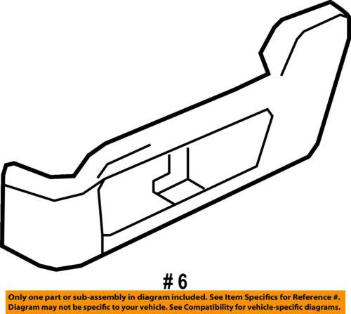 FORD OEM Seat Track-Valance Driver Front FL1Z7862163CB