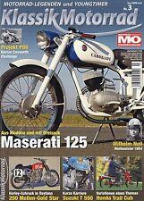 Klassik Motorrad 3/11 2011 Armac Honda Trail Cub Suzuki GT 500 Maserati 125 T/2