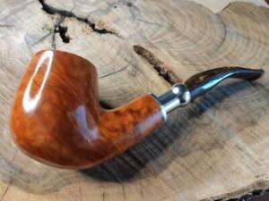 pipa Manelli bent spigot radica artigianale pipe Italy pfeife 175G gr.65 oz.2,3