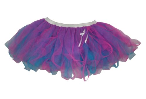 Femmes anna cyber tutu frozen princess robe fantaisie flo rose /& flow blue net