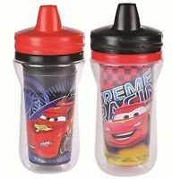 The First Years 2 Pack 9 Ounce Insulated Sippy Cup, Cars/pattern May Vary, on sale