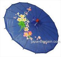 Blue Asian Parasol 22in 157-3 S-2175