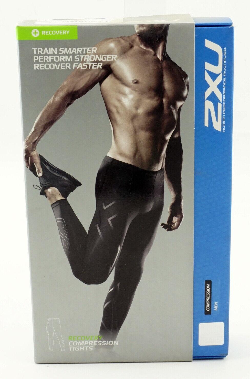 2XU Compression Mens Black Cycling Tights NEW XS