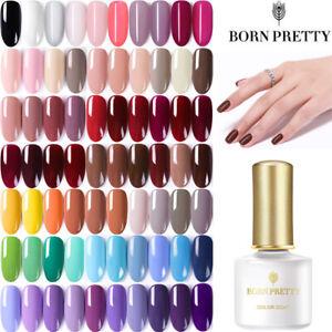 6ml-BORN-PRETTY-UV-Gel-Nail-Base-Top-Coat-Black-Pink-Soak-off-UV-Gel-Polish