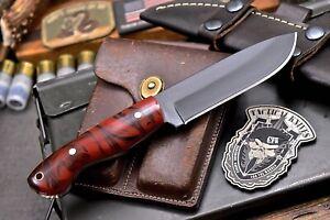 CFK IPAK Handmade D2 Custom CORELON Small Hunting Skinner Camping Hunter Knife