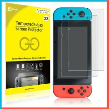 Suprjetech 2-pack Tempered Glass Screen Protectors for Nintendo Switch 2017