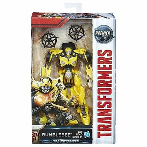 Hasbro Transformers MV5 The Last Knight Deluxe class Bumblebee Premier Edition