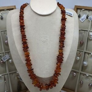 100-natural-amber-irregular-beads-golden-brown-color-necklace