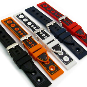 Silicone-Grand-Prix-Racing-Style-Sports-Watch-Strap-20mm-22mm-24mm-C032