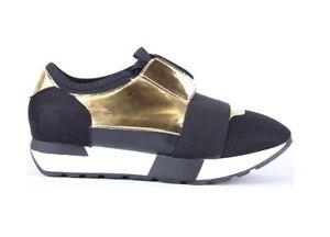 Senoras-MUJERES-corredores-Zapatillas-Planas-Con-Cordones-Comodos-Zapatos-Tenis-Luz-Bali-Tamano