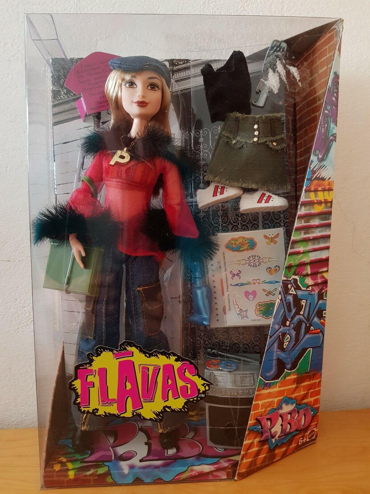 Flavas P. Bo - Barbie - Mattel 2003 - NEU NEU NEU - NRFB - selten 201966