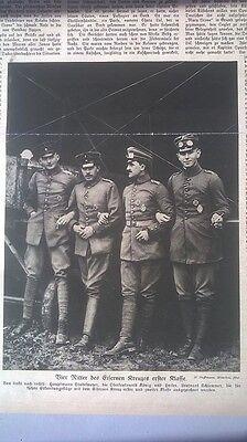 1915 6 Flieger Stademeyer König Hailer Schemmer Eiserne Kreuz