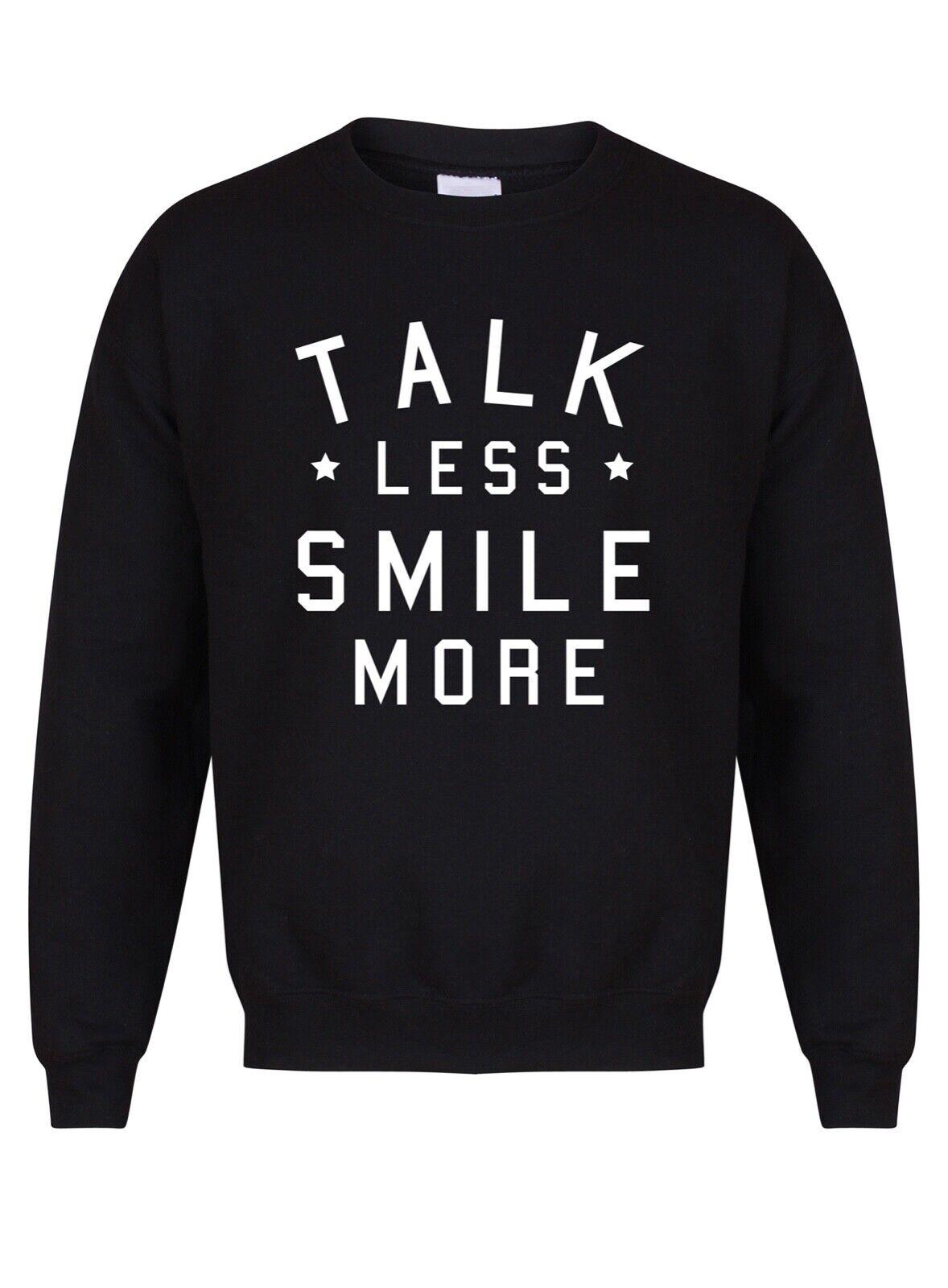 Talk less Smile More-Unisex Jumper-Hamilton Schuyler Musical Jumper