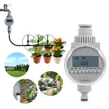 Solar Power Electronic Auto Water Irrigation Controller Digital Water Timer HG
