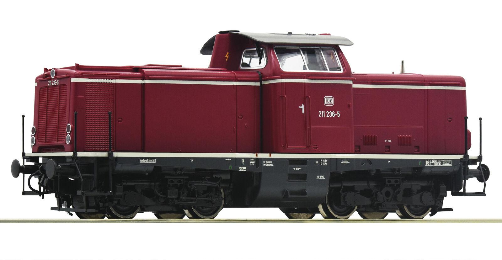 Roco 52526 DiLok Serie Br 211 DB Rosso Antico Dc