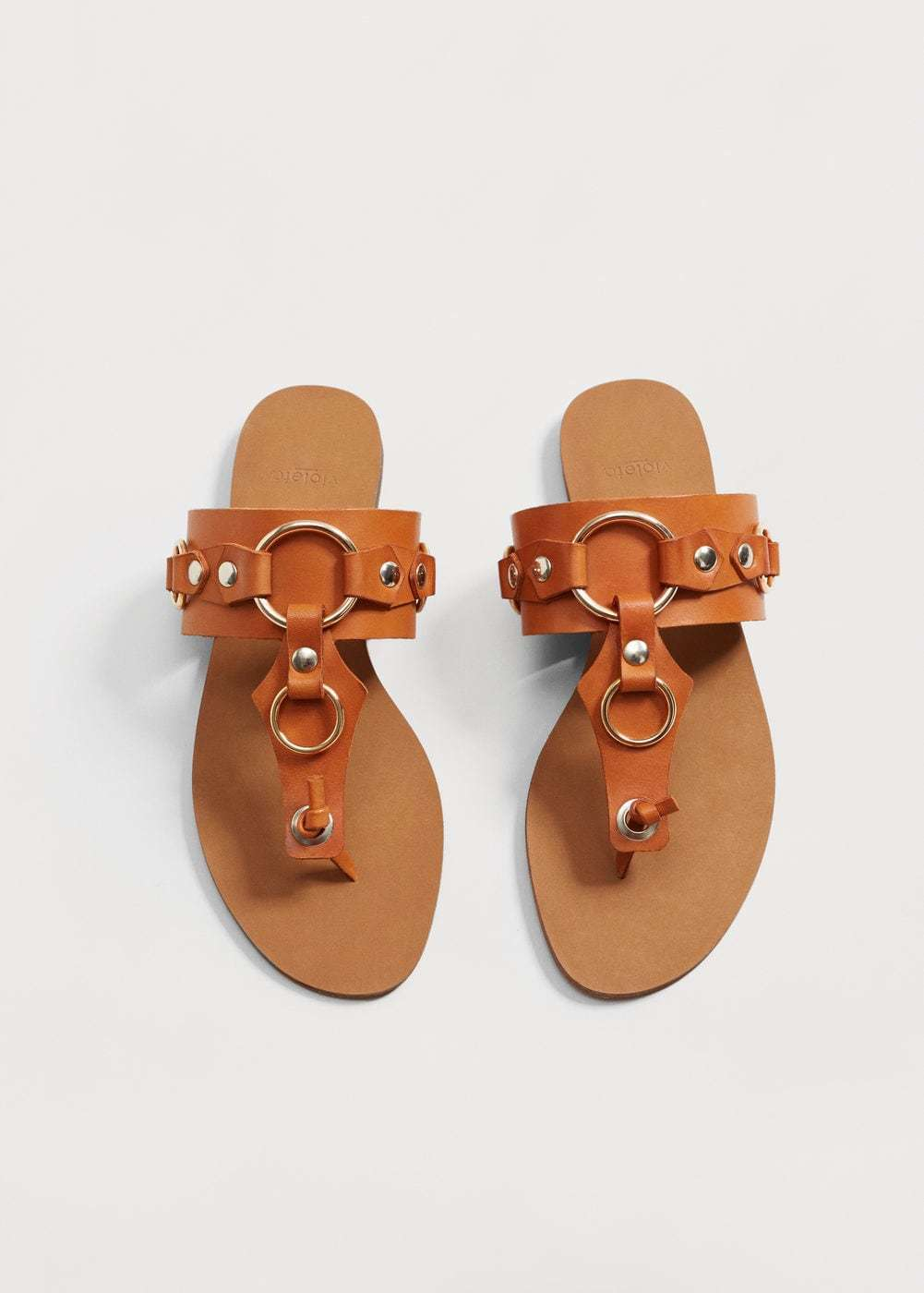 Violeta by Mango Decorative EU Appliqué Sandals UK 3 EU Decorative 36 JS41 76 afe44c