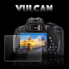 VULCAN Glass Screen Protector for Nikon D7100 LCD. Tough Anti Scratch DSLR Cover