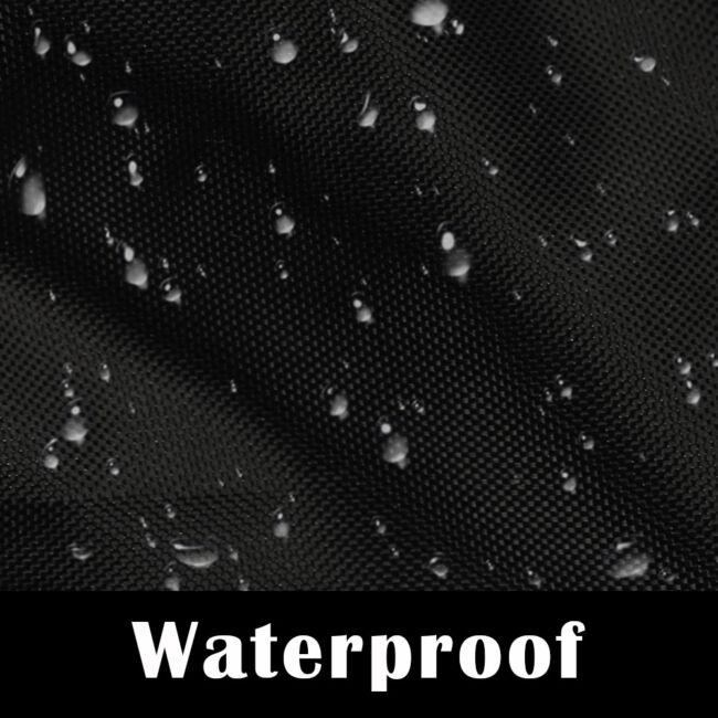 Waterproof 4 Passenger Golf Cart Cover Fits EZ Go/Club Car/Yamaha Dust Sunproof