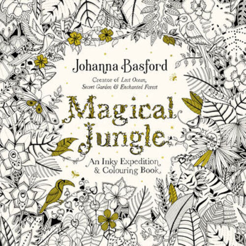 1 of 1 - Magical Jungle: An Inky Expedition & Colouring Book | Johanna Basford