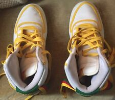 2006 NIKE VANDAL HI LEATHER SZ 10 West INDIES ?RARE WHITE RED GREEN YELLOW AIR