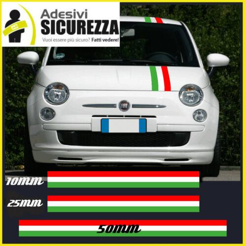 3M™ Adhesive stickers Italian Tricolore Flag stripe in 4 sizes vespa lambretta