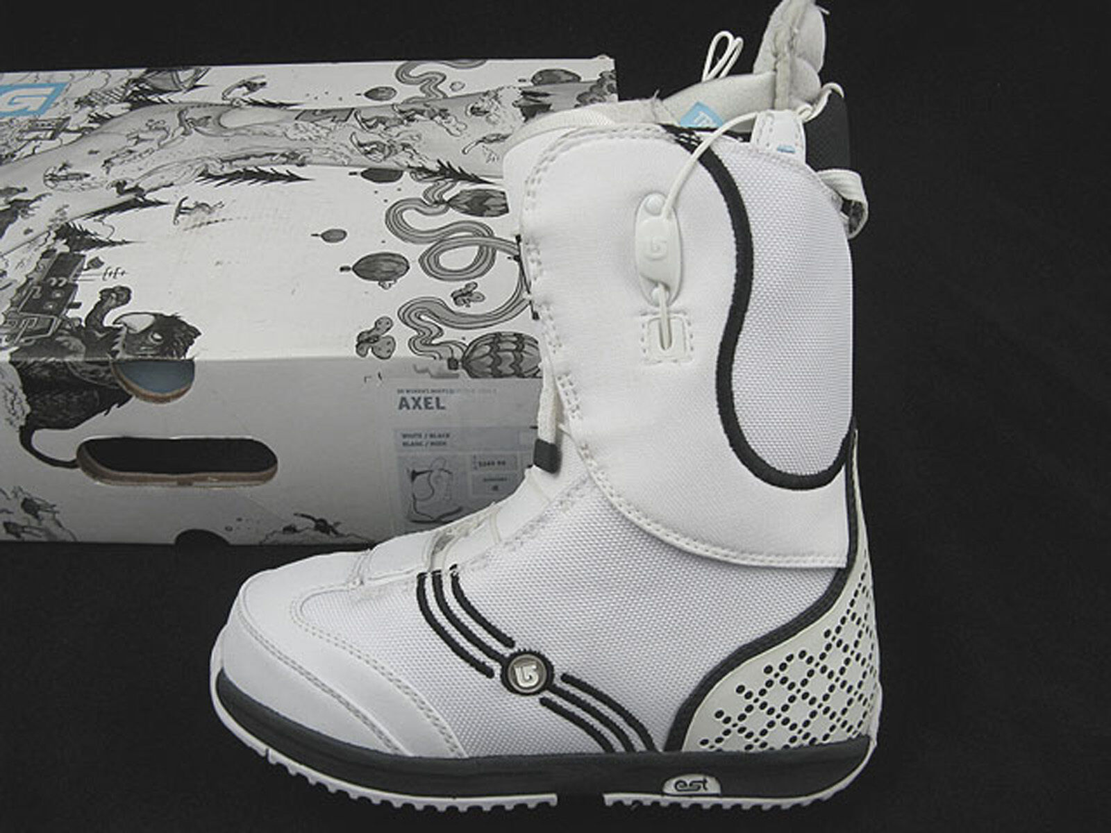 NEW  250 Burton Axel Snowboard Boots   US  5 Euro 35 Mondo 22  White  order now enjoy big discount