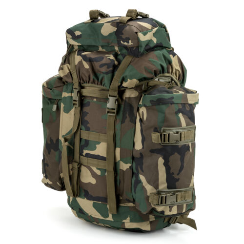 Backpack Mountain Bw Bundeswehr Hiking Trekking Army Us Outdoor Woodland