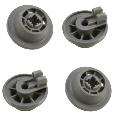 4 Korbrollen Geschirrspüler Unterkorb für Bosch SMS40T32GB SMS40T32UK SMS40T42GB
