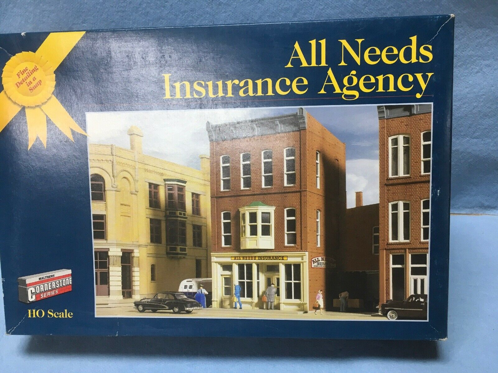 WALTHERS CORNERSTONE gold RIBBON SERIES ALL NEEDS INSURANCE AGENCY HO 933-3617
