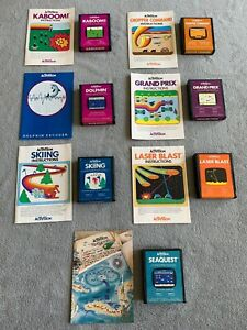 7-Atari-2600-Activision-Games-w-manuals
