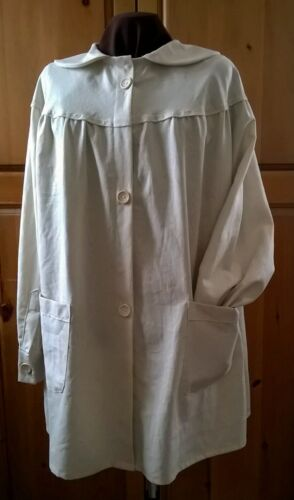 traditional artist smock.original design.exclusive.linen blend.tailored by Béni