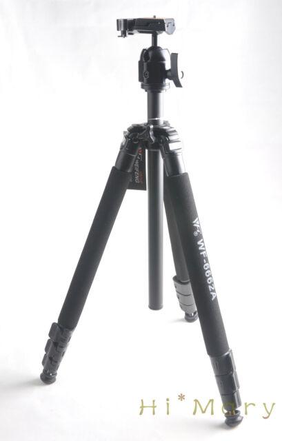 New weifeng wf-6662A Tripods Ball head Tripod for Canon Nikon Sony camera JVC DV