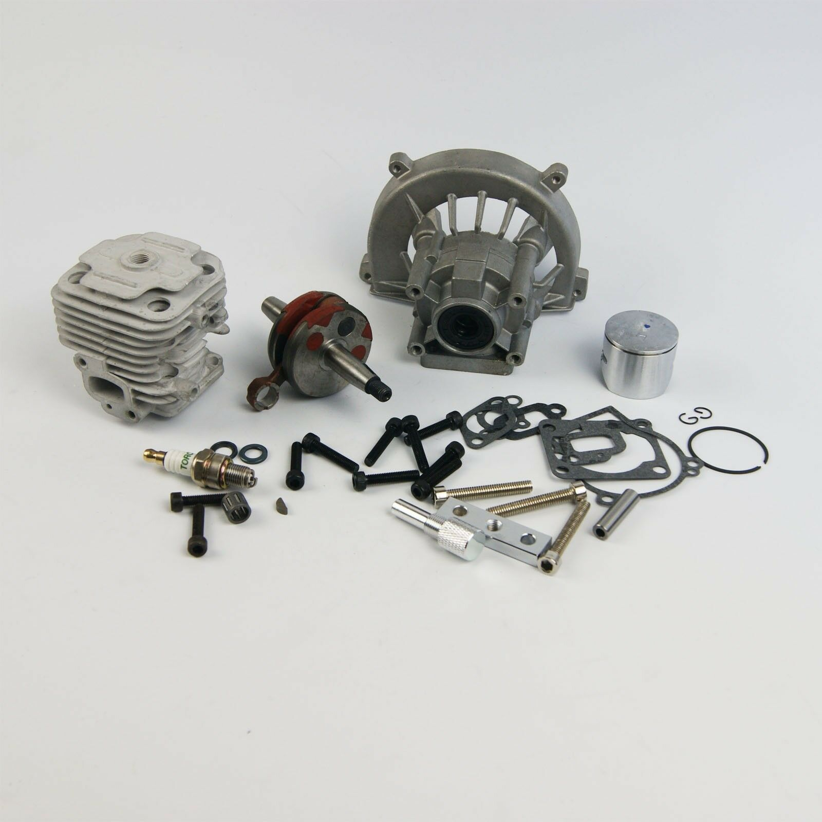 Rovan  4 Bolt 30.5cc Engine Kit fit CY ZENOAH G240 G270 G290RC HPI KM GOPED  risparmia fino al 50%