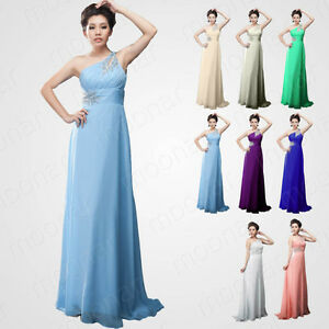 Pink-Color-Stock-9-Size-Formal-Prom-Gowns-Slim-Evening-Ball-Cocktail-Long-Dress