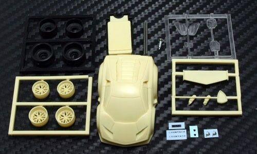 Finework Choro Q tamaño Lamborghini Countach conceptev Hg RESIN KIT