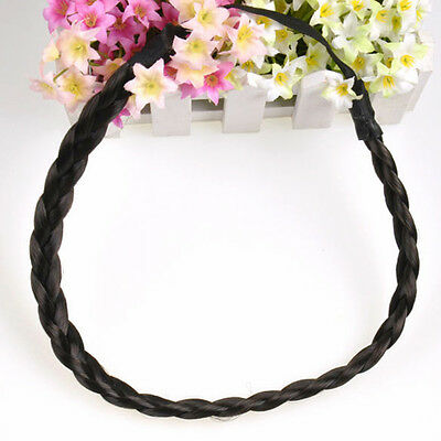 Boho Style Women Girls Party Braided Plaited Hair Accessories Headband Hairband